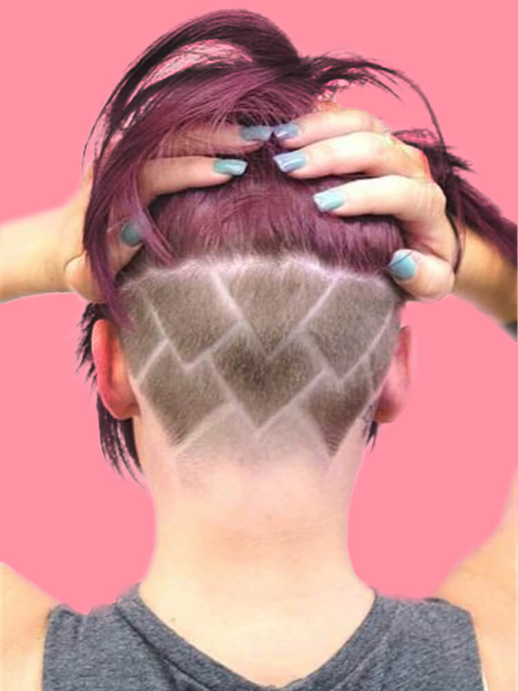 30 Attractive Chic Undercut Hairstyles Designs To Try This