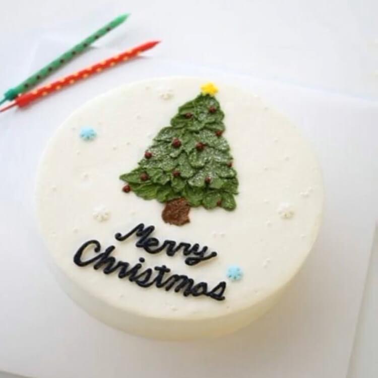 Christmas Cakes Ideas 12