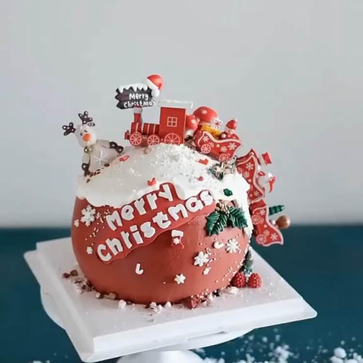 Christmas Cakes Ideas 15