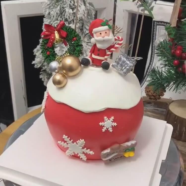 Christmas Cakes Ideas 16