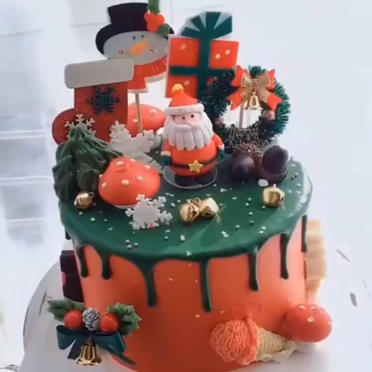Christmas Cakes Ideas 19