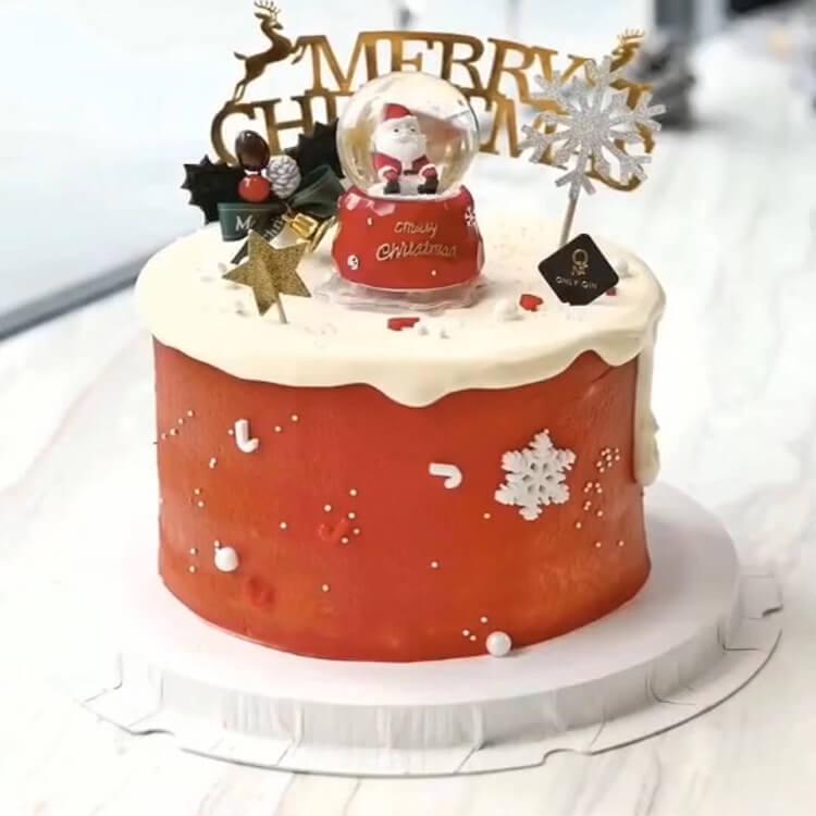 Christmas Cakes Ideas 20