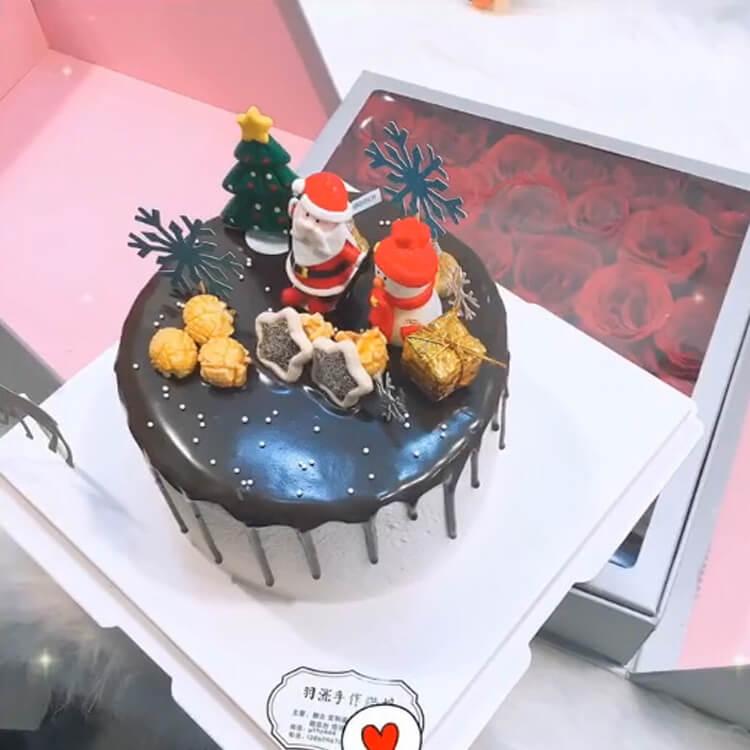 Christmas Cakes Ideas 22