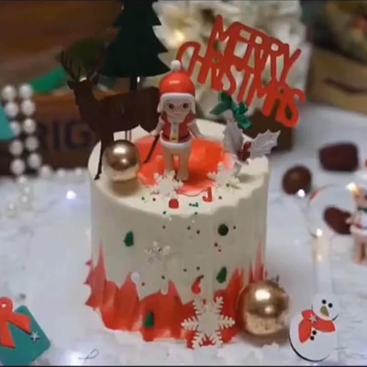 Christmas Cakes Ideas 24