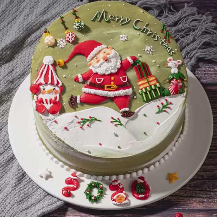 Christmas Cakes Ideas 28