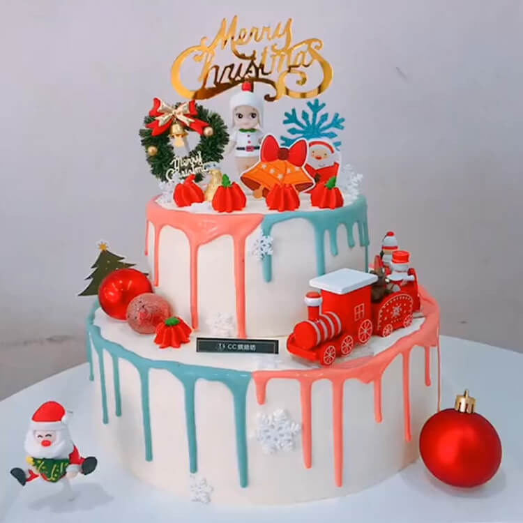 Christmas Cakes Ideas 29