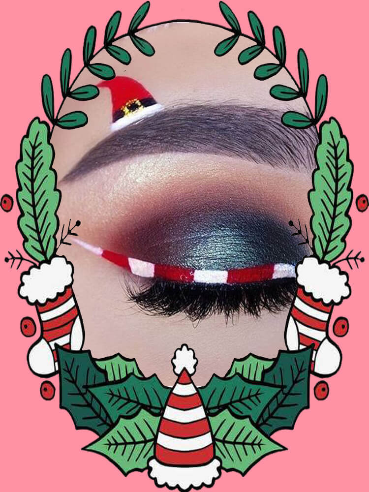 Christmas Eyeshadow Makeup 18