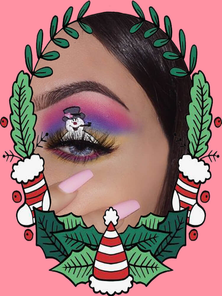 Christmas Eyeshadow Makeup 19