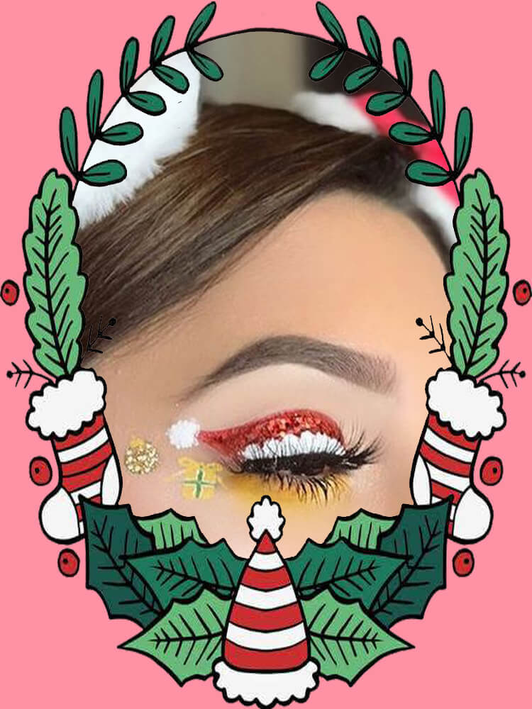 Christmas Eyeshadow Makeup 30