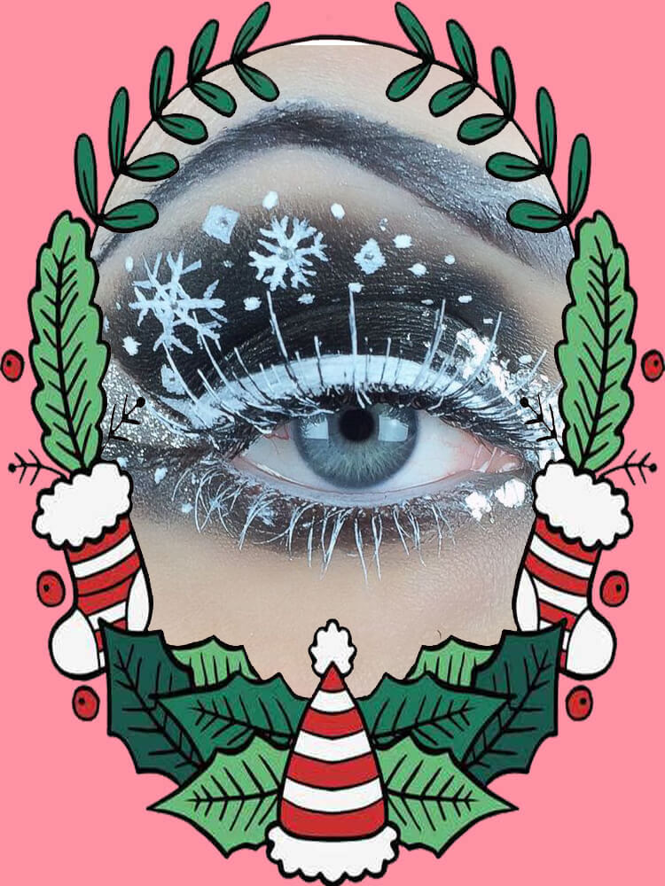 Christmas Eyeshadow Makeup 33