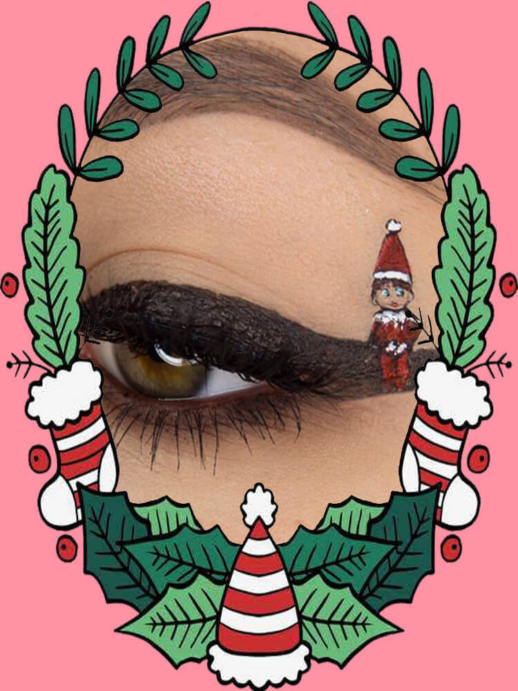 Christmas Eyeshadow Makeup 6