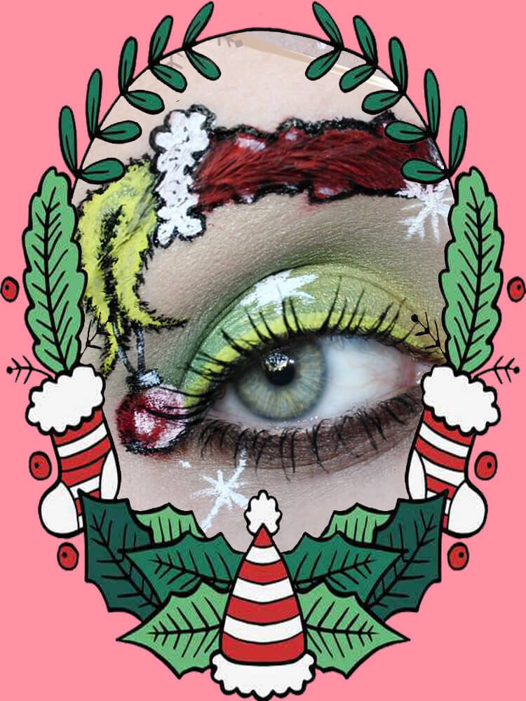Christmas Eyeshadow Makeup 8