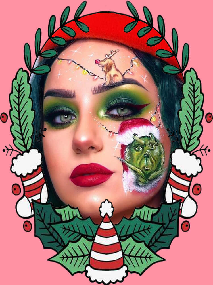 Christmas Face Painting 1