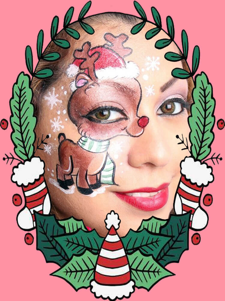 Christmas Face Painting 11