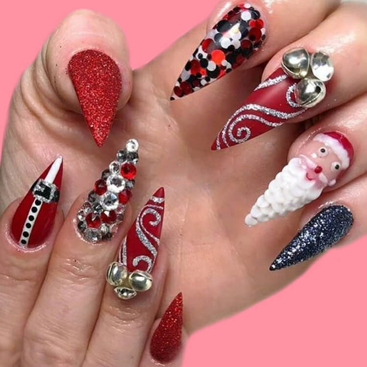 Christmas Nail Ideas 23