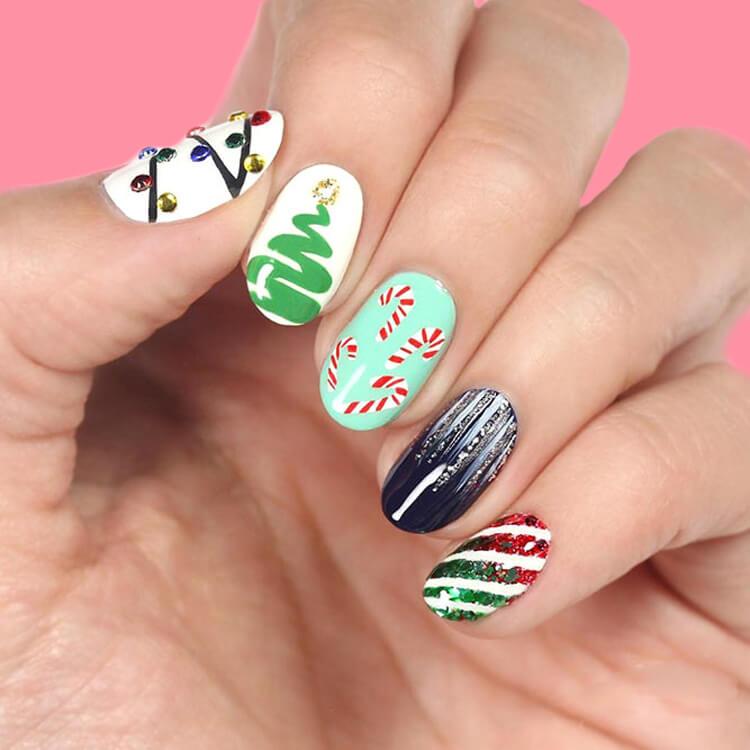 Christmas Nail Ideas 31