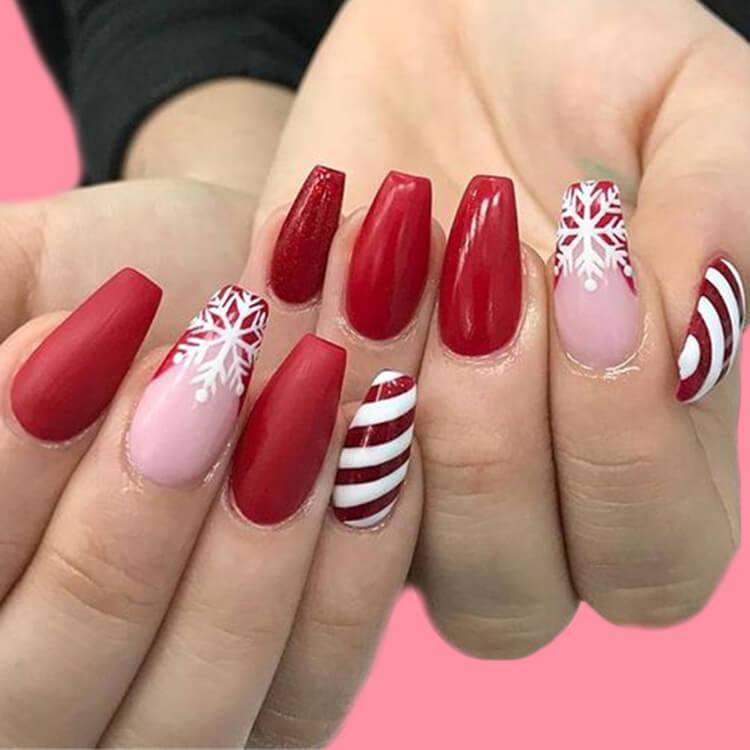 Christmas Nail Ideas 37