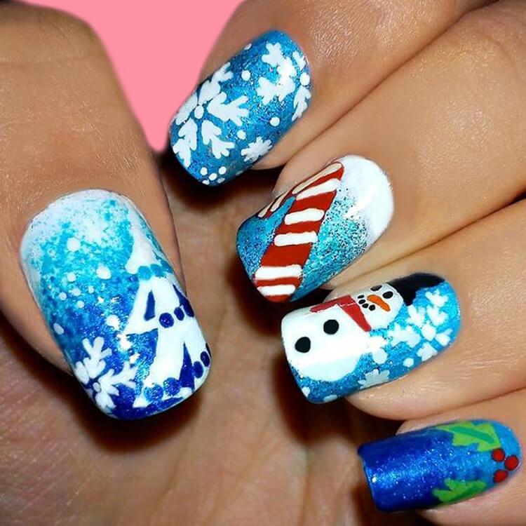 Christmas Nail Ideas 61