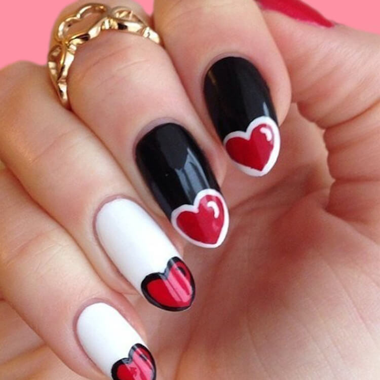 Show all Valentine's Day Nails Design for Romantic Day 11