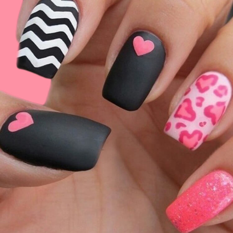 Show all Valentine's Day Nails Design for Romantic Day 15