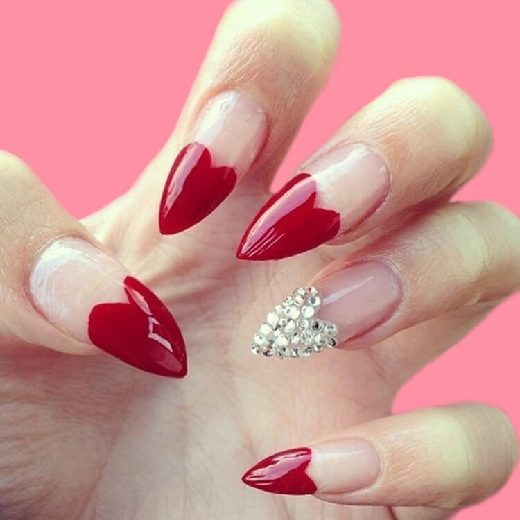 Show all Valentine's Day Nails Design for Romantic Day 16