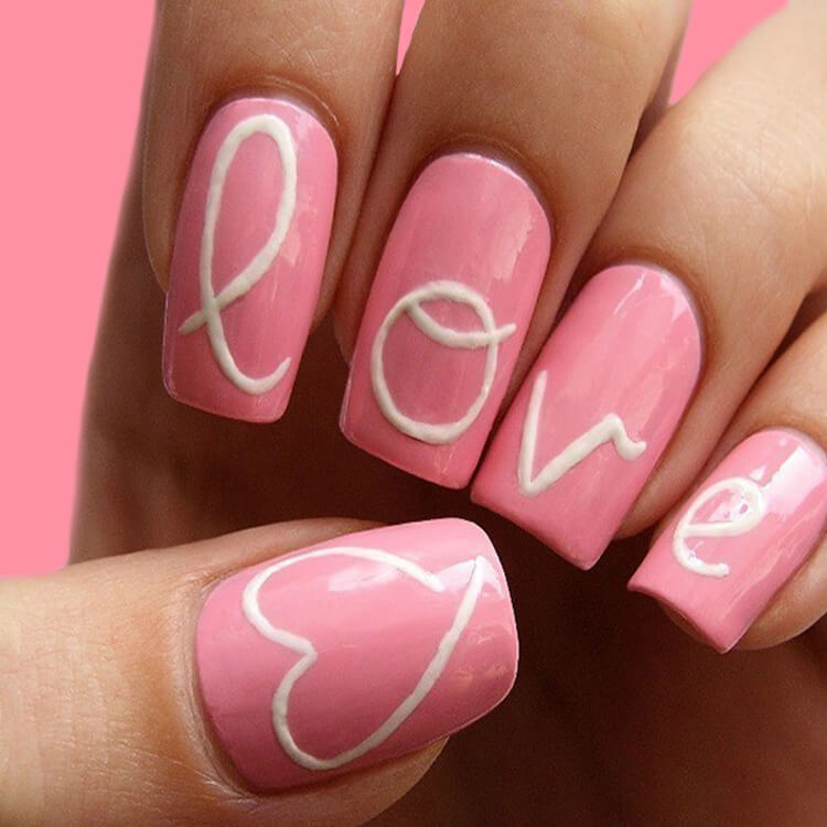 Show all Valentine's Day Nails Design for Romantic Day 18