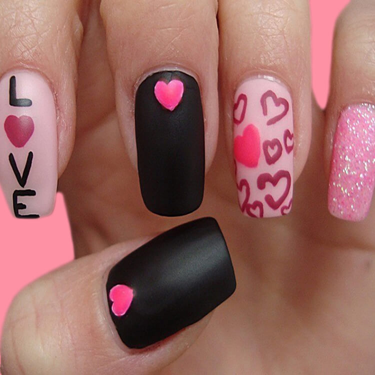 Show all Valentine's Day Nails Design for Romantic Day 19