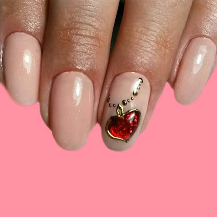 Show all Valentine's Day Nails Design for Romantic Day 2
