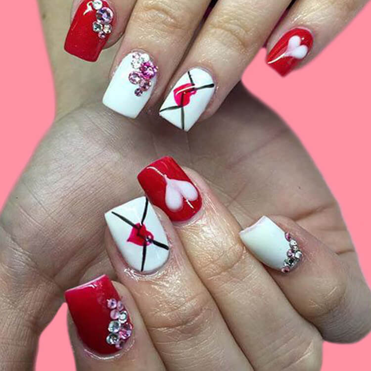 Show all Valentine's Day Nails Design for Romantic Day 4