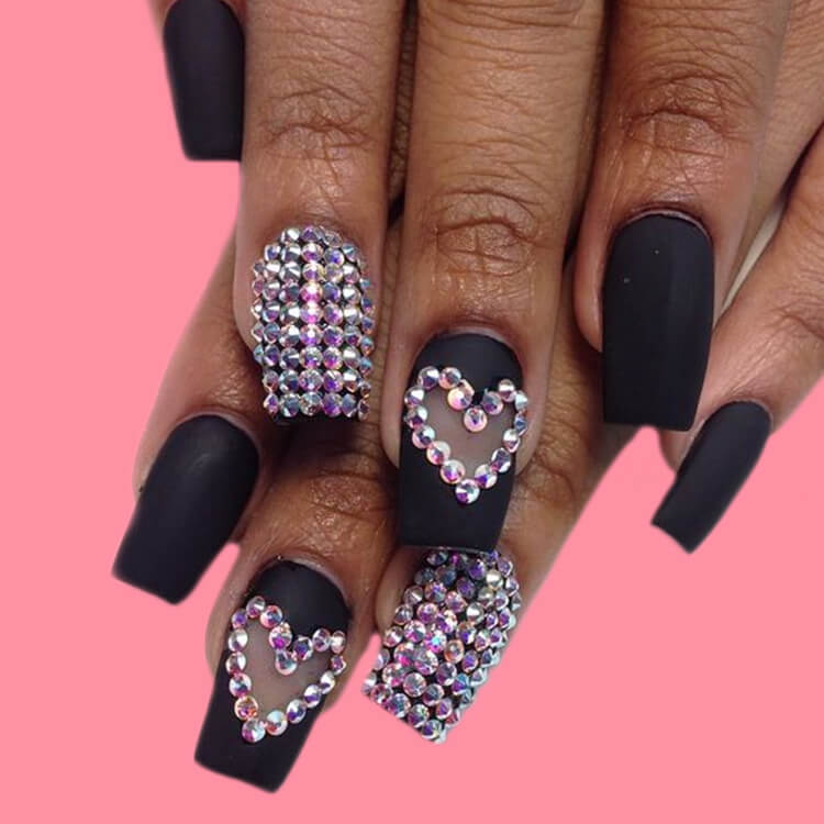 Show all Valentine's Day Nails Design for Romantic Day 8