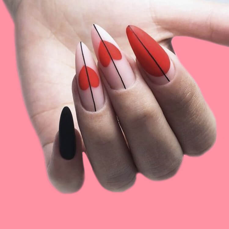 Show all Valentine's Day Nails Design for Romantic Day 9