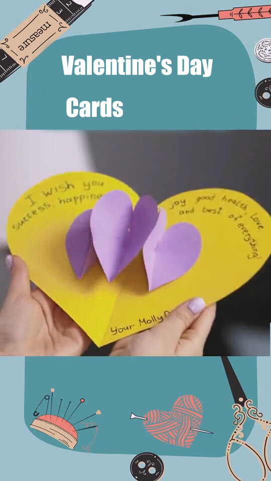 Show Lovely Valentine's Day DIY Ideas and Valentine's Day Cards 6