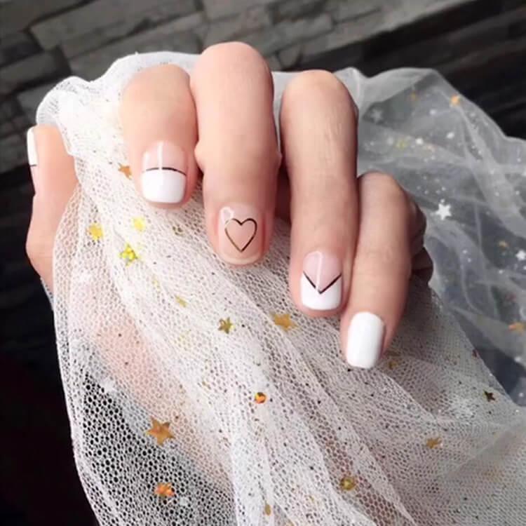 Valentine's Day Hearts Nail Designs 5