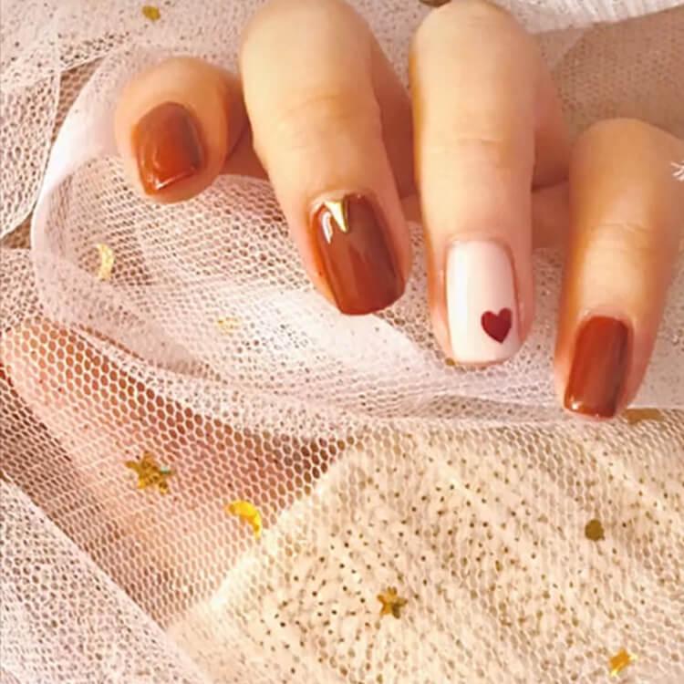 Valentine's Day Hearts Nail Designs 7